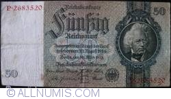 Image #1 of 50 Reichsmark 1933 (30. III.) - E (7 digit serial)