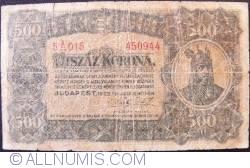 Imaginea #1 a 500 Coroane 1923