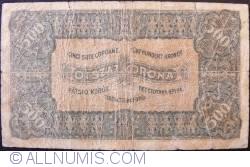 Imaginea #2 a 500 Coroane 1923