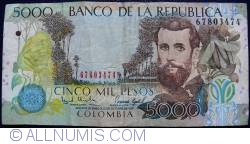 Image #1 of 5000 Pesos 1997 (12. X.)