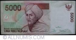 Image #1 of 5000 Rupiah 2001/2008