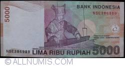 Image #2 of 5000 Rupiah 2001/2008