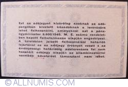 Imaginea #2 a 500000 (Ötszazezer) Adópengö 1946 (25. V.)