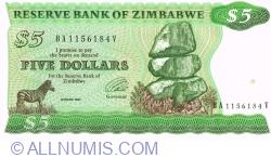 Imaginea #1 a 5 Dolari 1994