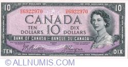 Image #1 of 10 Dollars 1954