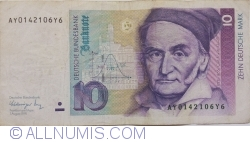 Image #1 of 10 Deutsche Mark 1991 (1. VIII.)