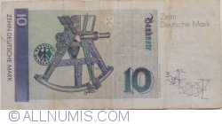 Image #2 of 10 Deutsche Mark 1991 (1. VIII.)