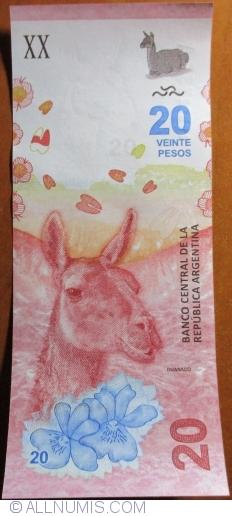 Imaginea #1 a 20 Pesos ND (2017)