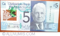 Image #1 of 5 Pounds Sterling 2015 (13. II.) - 125th Anniversary of Opening of Forth Bridge