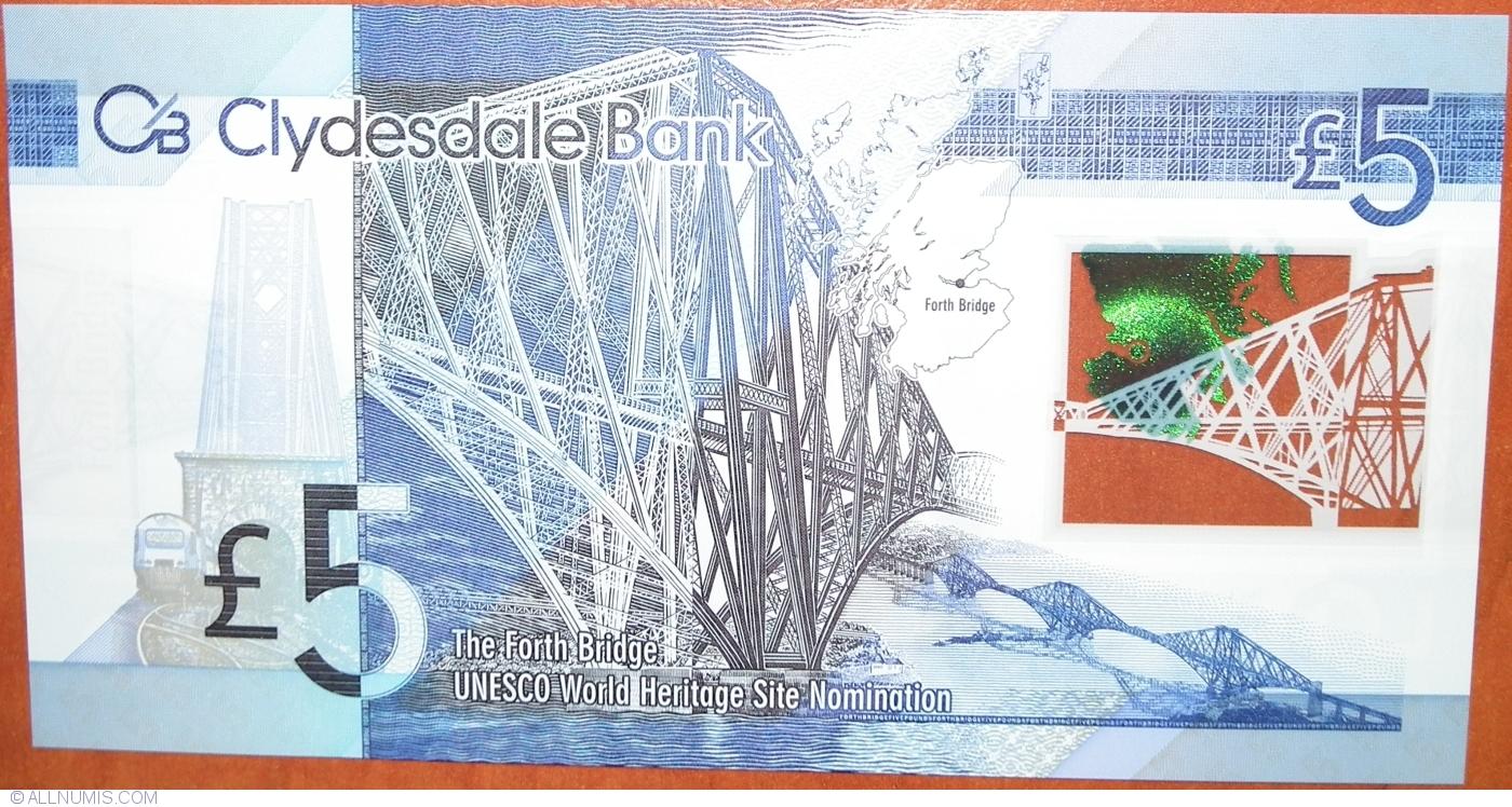 1 pound 351e 2001 P-351 Scotland Royal Bank UNC