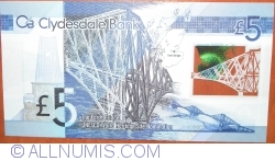 Image #2 of 5 Pounds Sterling 2015 (13. II.) - 125th Anniversary of Opening of Forth Bridge