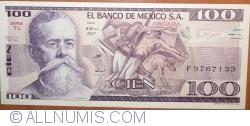 Image #1 of 100 Pesos 1981 (3. IX) - Serie TL