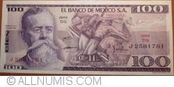 Image #1 of 100 Pesos 1974 (30. V.) - Serie DG