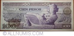 Image #2 of 100 Pesos 1974 (30. V.) - Serie DG