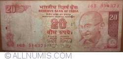 Image #1 of 20 Rupees 2010 - R