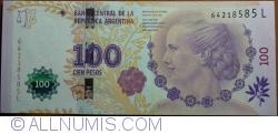 Imaginea #1 a 100 Pesos ND(2012) - semnături Juan Carlos Fábrega/ Amado Boudou