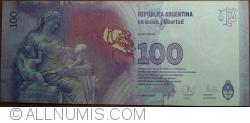 Imaginea #2 a 100 Pesos ND(2012) - semnături Juan Carlos Fábrega/ Amado Boudou
