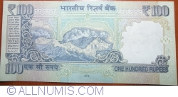 Image #2 of 100 Rupees 2015 - R