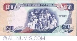 Imaginea #2 a 50 Dollars 2012 (6. VIII.) - A 50-a aniversare a proclamării Independenței Statului Jamaica