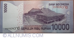 Imaginea #2 a 10 000 Rupiah 2013