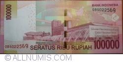 Image #2 of 100 000 Rupiah 2014/2014