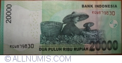 Imaginea #2 a 20 000 Rupiah 2014