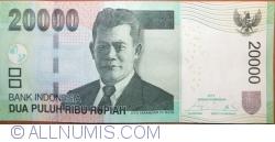 Imaginea #1 a 20 000 Rupiah 2014