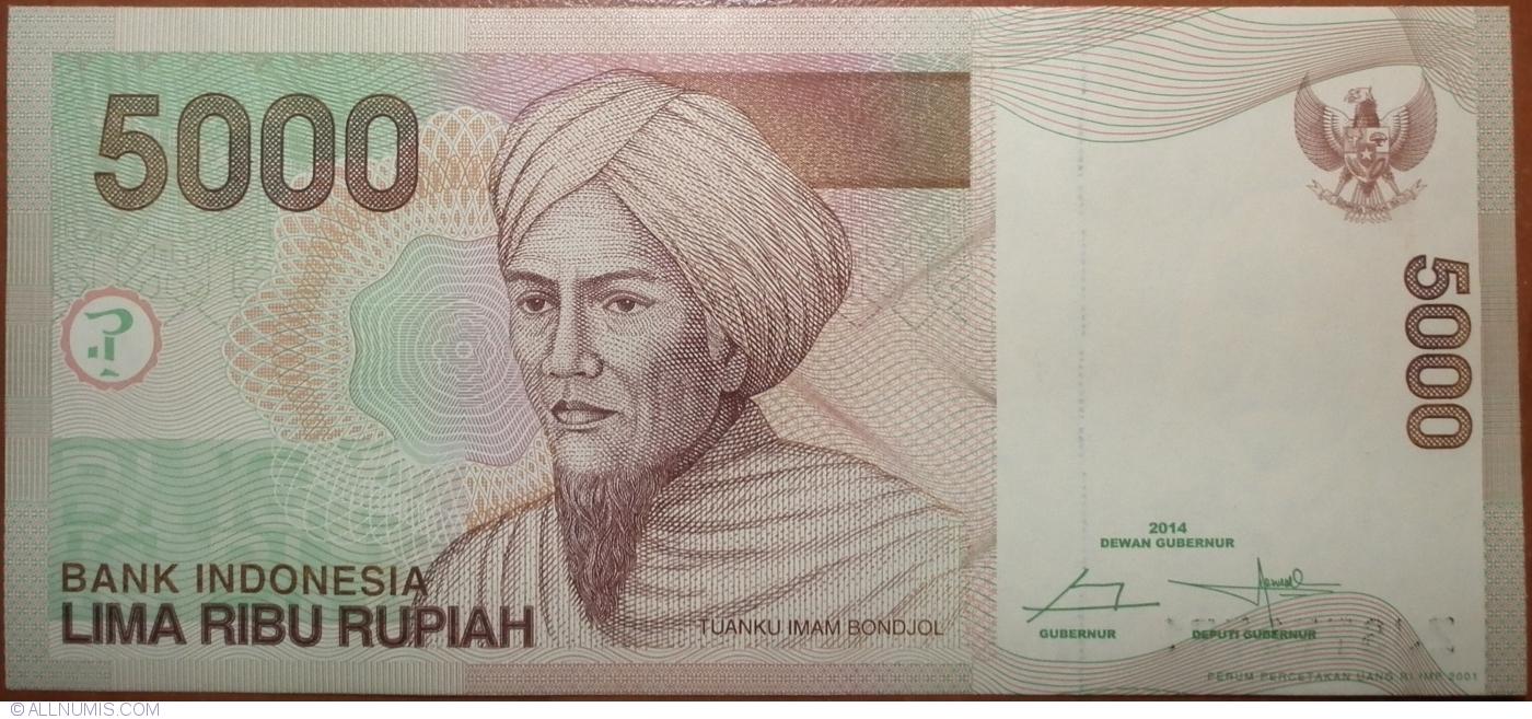 5000 Rupiah 2017
