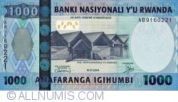 Image #1 of 1000 Francs 2004 (1. VII.)