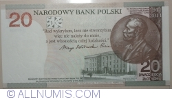 Image #2 of 20 Zlotych 2011 - 100 Anniversary of Marie Skłodowska-Curie's the Nobel Prize for Chemistry