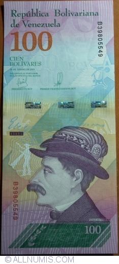 Imaginea #1 a 100 Bolivares 2018 (15. I.)