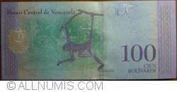 Imaginea #2 a 100 Bolivares 2018 (15. I.)