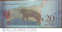 Imaginea #2 a 20 Bolivares 2018 (15. I.)