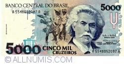 5000 Cruzeiros ND(1993) - Semnături Paulo Roberto Haddad/ Gustavo Jorge Laboissière Loyola