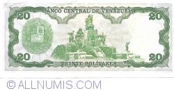 Imaginea #2 a 20 Bolivares 1984 (25. IX.)