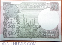 Image #2 of 1 Rupees 2015