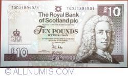 Imaginea #1 a 10 Pounds 2012 (06. II.) - Jubileul de Diamant al Reginei Elisabeta a II-a (1952-2012)