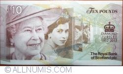 Imaginea #2 a 10 Pounds 2012 (06. II.) - Jubileul de Diamant al Reginei Elisabeta a II-a (1952-2012)