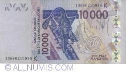 Imaginea #1 a 10 000 Francs 2003/2013
