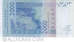 Image #2 of 2000 Francs 2003/(20)14