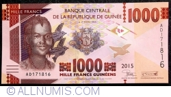 Image #1 of 1000 Francs 2015