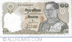 10 Baht ND (1980) - signatures Bodee Joonanon/ Rerngchai Maraganon
