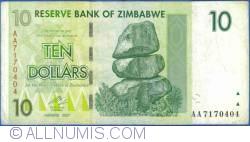 Imaginea #1 a 10 Dolari 2007 (1. VIII.)