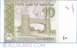 Imaginea #2 a 10 Rupii 2006