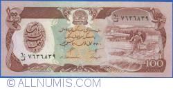 Image #1 of 100 Afghanis 1990 (SH 1369 - ١٣٦٩)