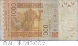Image #2 of 1000 Francs 2003/(20)12