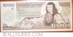 Image #1 of 1000 Pesos 1985 (19. VII.) - Serie YN
