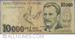 10000 Cruzeiros ND(1991) - semnături Zélia Maria Cardoso de Mello/ Ibrahim Éris