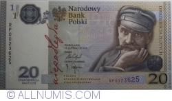 Image #1 of 20 Złotych 2018 (13. II.)