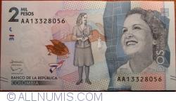Imaginea #1 a 2000 Pesos 2015 (19. VIII.)